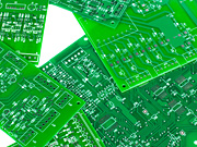 Variety of green printed circuit boards